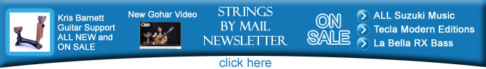Strings By Mail Sept 24 Newsletter Sale